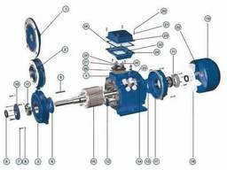 Запчасти детали комплектующие для электродвигателя АИР или А