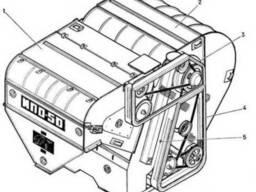 Запчасти для МПО 50 (Машина предварительной очистки)