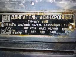 Двигатель асинхронный ТМ41/4-у3 1. 7квт/1420 об/мин. И Др