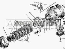 Запчасти (запчастини) Булдозера Трактора ДТ-75
