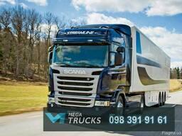 Запчастини до вантажних автомобілів Scania