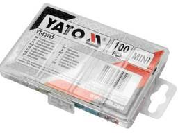 Запобіжники автомобільні YATO MINI 100 шт