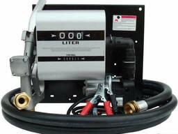 Заправочный насос для дизельного топлива с расходомером