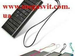 Зарядное для мобилки на солнечных батареях 1350мАч