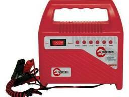 Устройство зарядное для аккумуляторов 6/12 В Intertool AT-3012