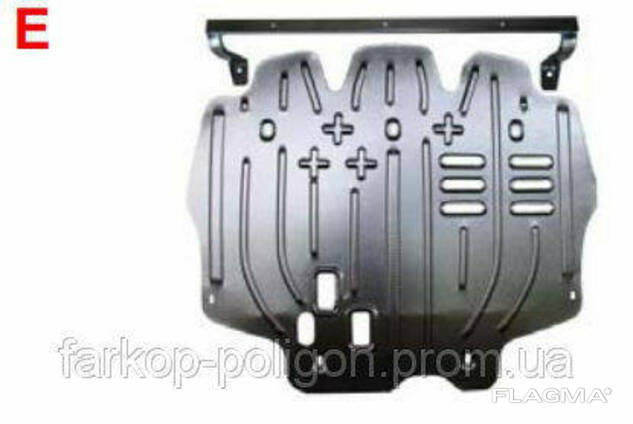 Защита радиатора BMW E63 645 c 2004-2007 г.