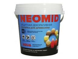 Защитн. декор. пропитка для древесины Neomid BiO Color Aqua