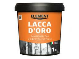 Защитний лак Lacca D'ORO Element Decor 1 л