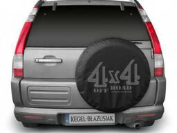 """Kegel-blazusiak Защитный чехол на запасное колесо для внедорожников """"4х4"""" размер 82 см. .."""