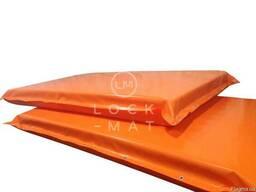 Защитный мат для горнолыжных трасс , толщина 15 см