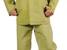 Защитный огнестойкий костюм сварщика из 100% брезента