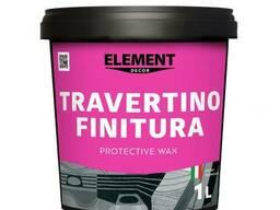 """Защитный воск Travertino Finitura """"Element Decor"""" 1 л"""