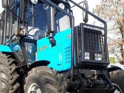 Защитные ограждения для тракторов при лесозаготовке