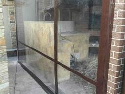 Защитные прозрачные шторы для террас из ПВХ - мягкие окна.