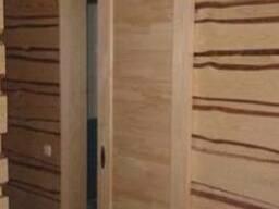 Зашивка, отделка стен деревом