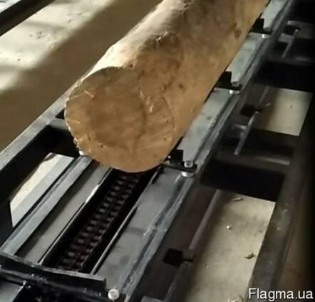 Засоби механізації деревообробних підприємств, бревнотаска
