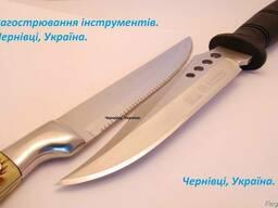 Заточка ножей под углом 22 градуса.