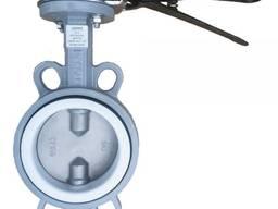Затвор диск-нж сталь 316 межфл PTFE/PN16 Ду 300 доставка