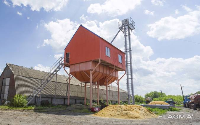 ЗАВ 25 - Строительство зерноочистительных комплексов ЗАВ
