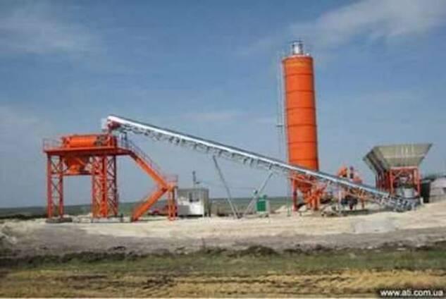 Завод для производства бетонных смесей с низким содержанием