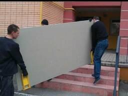 Подъем стройматериалов на этаж гипсокартону плитки