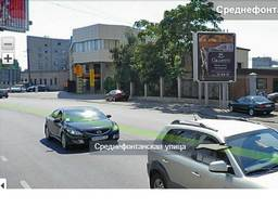 Здание 165 м. кв. и участок 13.6 сотки фасад ул. Среднефонтанская