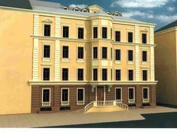 Здание в центре Одессы возле парка им. Шевченко