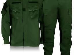 Зеленый костюм охраны