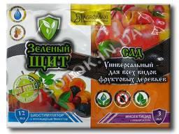 Зеленый щит «Сад» универсальный для фруктовых деревьев (жидк) 3 12 мл оригинал