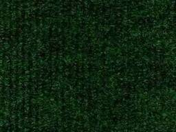 Зелёный выставочный ковролин
