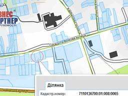 Земельна ділянка по вул. сержанта Волкова, Дахнівка