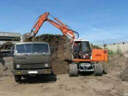 Землекопные работы механизированные. Уборка и очистка участк