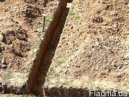 Земленые работы, демонтаж, копание траншей, корчевка деревье