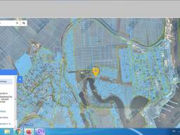 Земля 0.1149 га. фасад по трассе с. Молодёжное