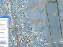 Земля, фасад, забудова, 7км, Прилиманське, 3,65 га.