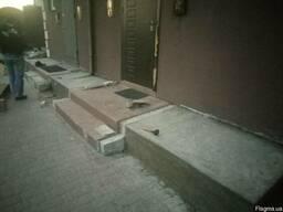 Земляные, бетонные работы