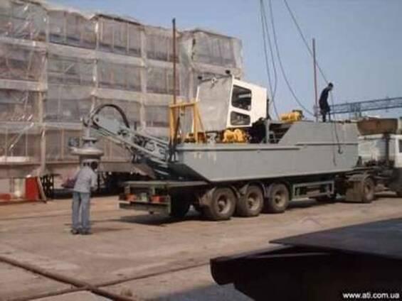 Земснаряд (Hydraulic dredger) любой мощности,амфибия.Услуги.