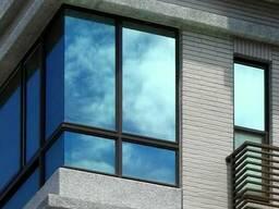 Зеркальная пленка на окна тонировка одностороннее зеркало