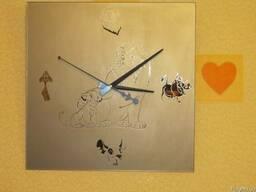 """Зеркальные часы """"Король Лев"""" - фото 3"""