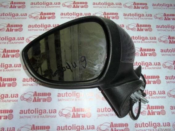 Зеркало левое FORD Fiesta MK7 08-12 6проводов авторозборка
