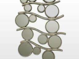 Зеркало настенное в серебре Carlo de santi SF05201
