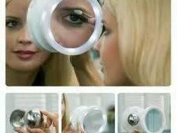 Зеркало с подсветкой Swivel Brite 360 8x на присоске (Свивел