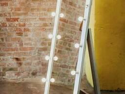 Зеркало с лампочками, гримерное (визажное) зеркало, зеркала