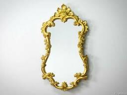 Зеркало в стиле барокко – оптимальное решение для малогабари