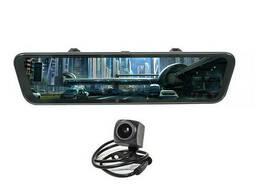 Зеркало видеорегистратор 10 Lesko Car K62 с камерой заднего вида (3444-9949)