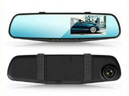 Зеркало-видеорегистратор Vehicle Blackbox 138E с одной камерой Black