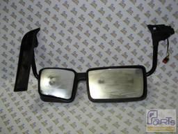 Зеркало заднего вида водительское (серое) RVI Premium DXI