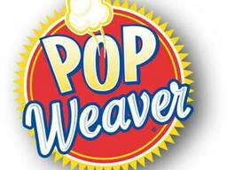 Зерно кукурузы для попкорна weaver gold