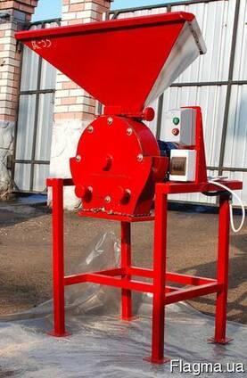 Зернодробилка дробилка ДКУ на 7.5 кВт до 1000 кг. час