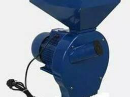 Зернодробилка ДТЗ КР-02 (200кг/час, зерно початки кукурузы
